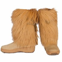 Sarah 2 Fur Boot Brown 7