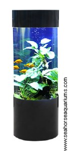 Cylinder Column Aquarium 147L