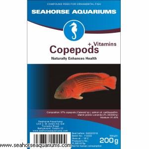 SA Copepods +Vitamins 200g