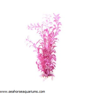 "Boyu  12"" Pink Plastic Plant"
