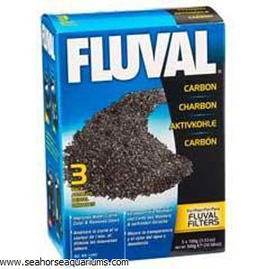 Fluval Activated Carbon 3x100g