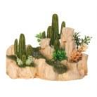 Arizona Stone with Cactus Med