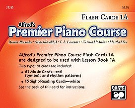 Flashcards Alf Premier 1A
