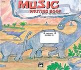 Alf Basic Music Writing Book
