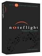 Noteflight - 3 year sub