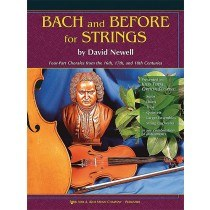 Bach And Before Orch - Score