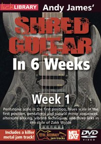Andy James Shred Guitar Wk 1