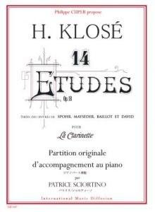 14 Etudes Op 18 de Klose Pno A