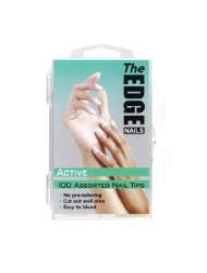 The Edge Active 100 Assorted Nail Tips
