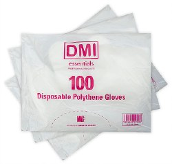 Disposable Polythene Gloves.  Pack of 100.