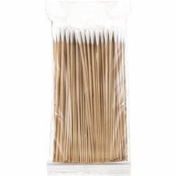 Salon System Cotton Buds - Wooden