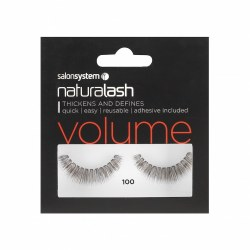 Salon System Naturalash 100 Black Strip Lash