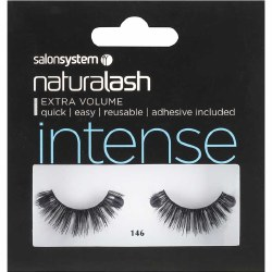 Salon Systems Naturalash 146 Black Intense Strip