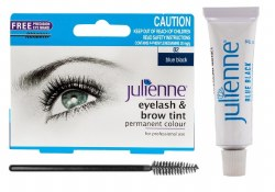 Julienne Eyelash and Eyebrow Tint Blue Black 15ml