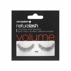 Salon System Naturalash 100 Black Strip Lash