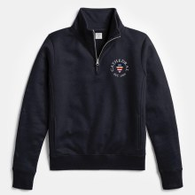 ACADEMY 1/4 ZIP NVY MED