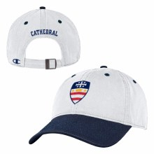 HAT-NCS CREST-WHITE W/NAVY