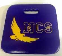 SEAT CUSHION-NCS EAGLE LOGO