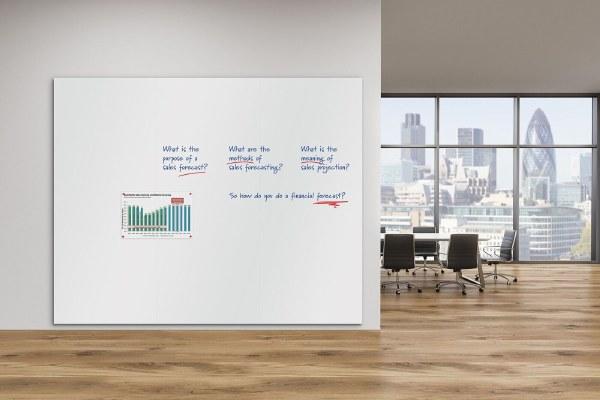 Frameless Magnetic Whiteboards