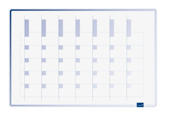 Accents Linear Month Planner 60x90cm