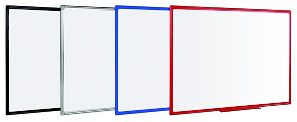 Double-Sided Coloured Frame Whiteboards