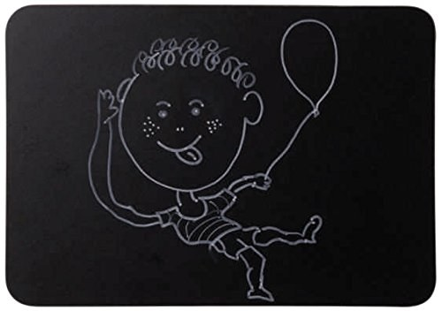 A4 Double Sided Chalk Board Unframed Pack of 5