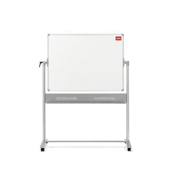 Nobo Basic Melamine Mobile Whiteboard 1500 x 1200mm