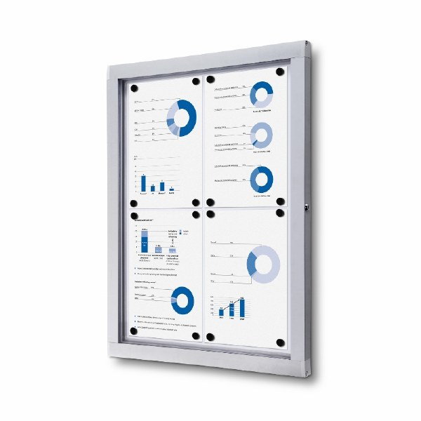 Lockable Noticeboards Indoor/Outdoor