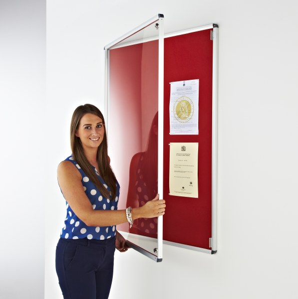 Boards Direct Internal Lockable Display Cases