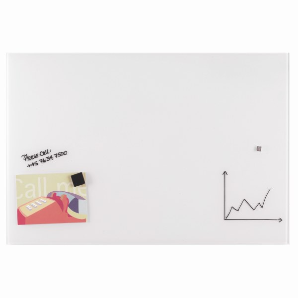 White Magnetic Glass Boards