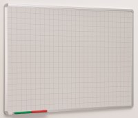 Non Magnetic Gridded Whiteboards