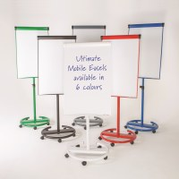 Ultimate Mobile Magnetic Flipchart Easel