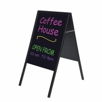 Bi-Office A-Frame Chalk Board