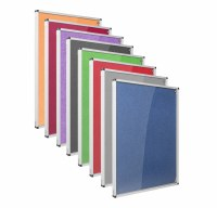 Eco-Colour Resist-a-Flame Tamperproof Noticeboards