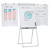 Easy Height Adjustable Extra Stable Flipchart Easel