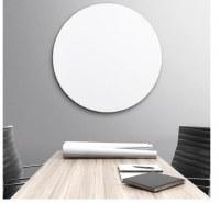 Circular White Glass Board 1000mm Diameter