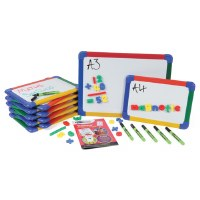 Magnetic Colour Framed Whiteboards