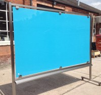 Casca Mobiglass COLOUR Mobile Glass Writing Boards