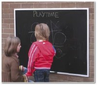 Outdoor Chalkboards
