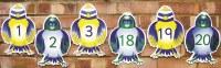 Bluebirds - Pack of 20