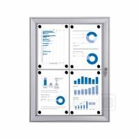 Indoor/Outdoor Lockable Display Cases