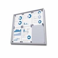Lockable Drywipe Display Cases