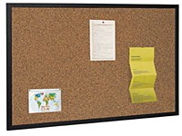 Techcork Black Framed Noticeboards