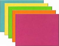 Unframed Bright Coloured Felt Noticeboards