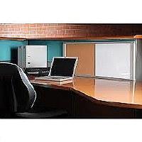 Bi-Office Magnetic/Cork WorkStation