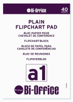 Bi-Office A1 Plain Flipchart Pads Pk5