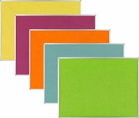 Bright Coloured Felt Noticeboards