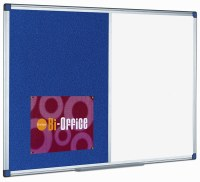 Bi-Office Combi Magnetic Drywipe Felt Boards