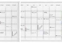 Franken Magnetic Year Calendar Planner