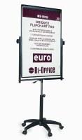 Bi-Office Magnetic Performer Gas-Lift Flipchart Easel